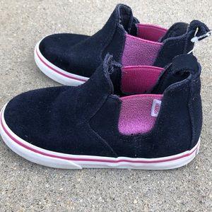 Vans shoes girls slip on